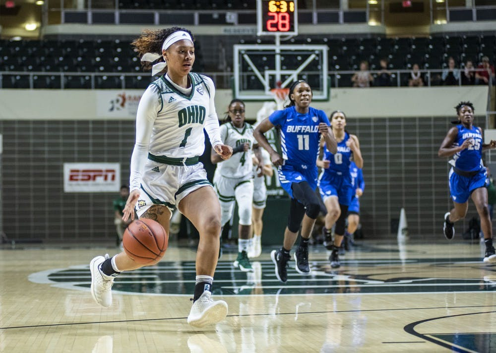 Women's Basketball: Ohio slips in path to Cleveland in loss to Buffalo