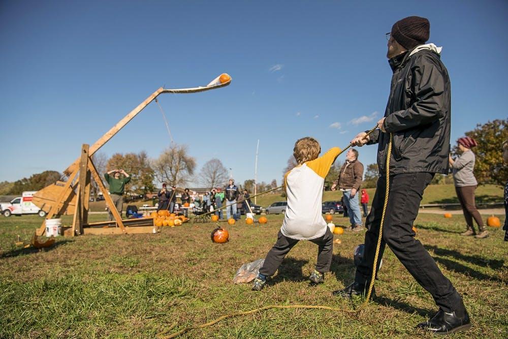 Pumpkin Chuckin' event provides fun, alternative way to get rid of pumpkins