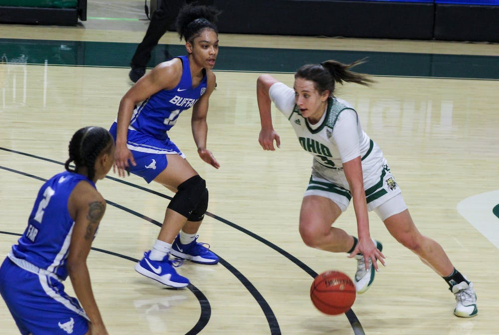 Women's Basketball: Kaylee Bambule lifts Ohio over Buffalo with game-winner