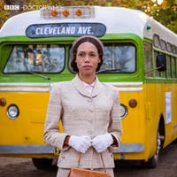 Rosa Parks makes an appearance in Sunday's episode of 'Doctor Who.' (Photo via @bbcdoctorwho on Twitter)