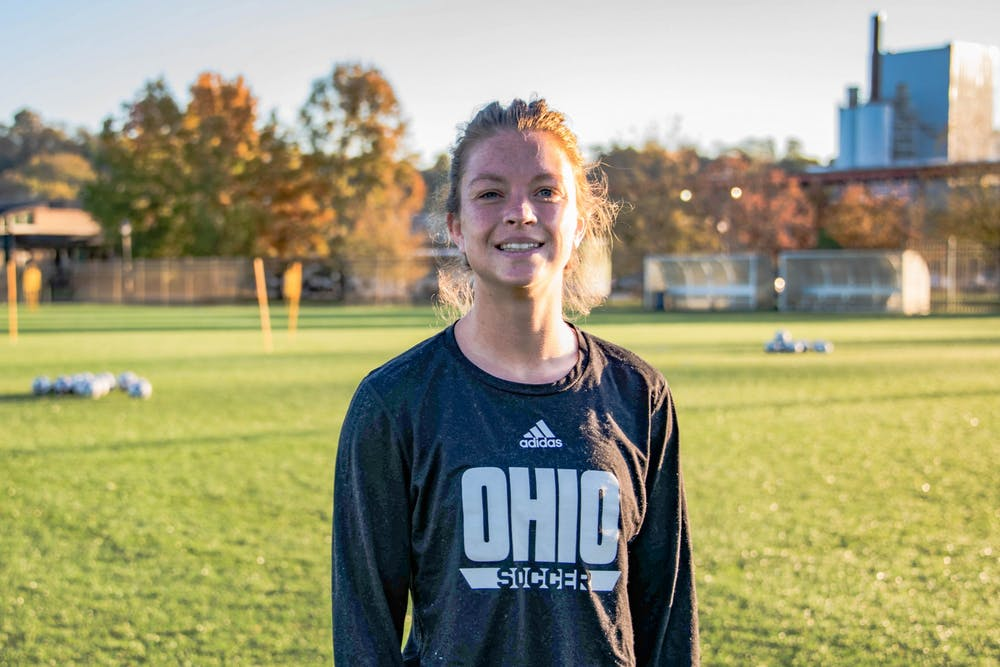 Soccer: Victoria Breeden is the anchor of Ohio's defense