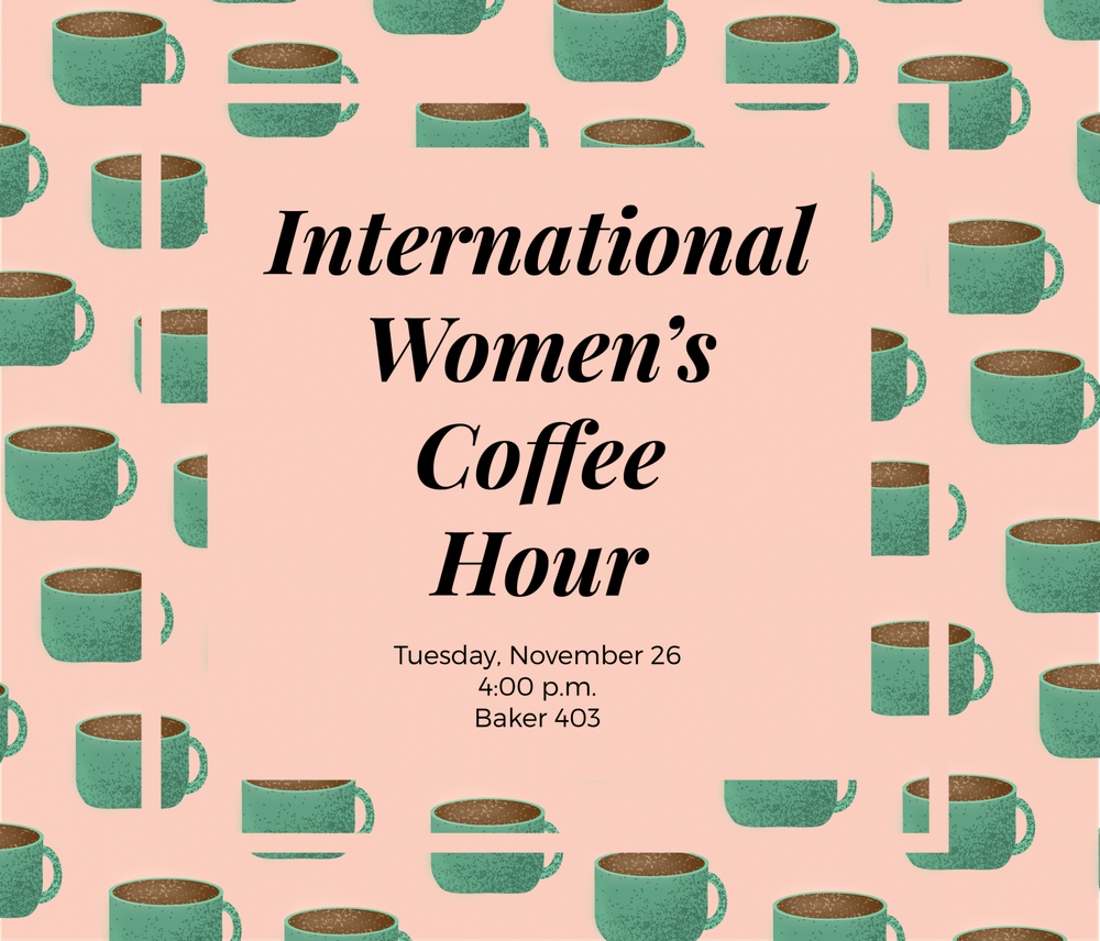 International Women's Coffee Hour provides safe space for deep conversations