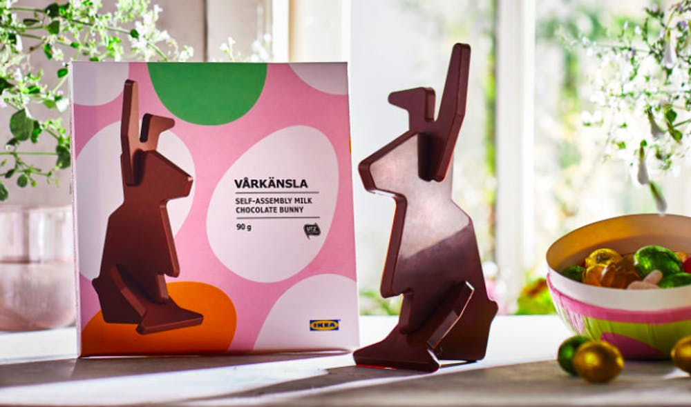 Fun News Friday: Assemble your own chocolate bunny; moose on a roof