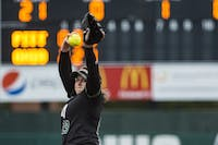 Ohio's Danielle Stiene pitches during the Bobcats' game against Pitt on March 27. (FILE)