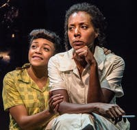 Arianna Hanson and Christina Acosta Robinson in Tantrum Theater's 2017 production of 'Caroline or Change' (Provided via Dan Winters)