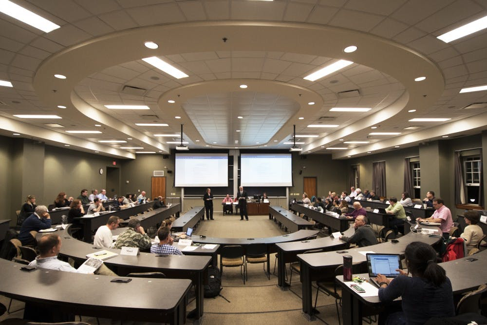 Faculty Senate: Appeals process changed for complaints involving sexual misconduct