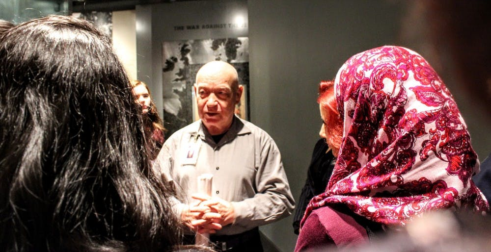 Holocaust survivor to speak about tolerance and intervention