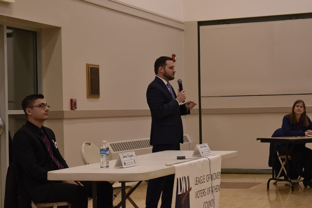 Democratic congressional candidates make their case at voter forum