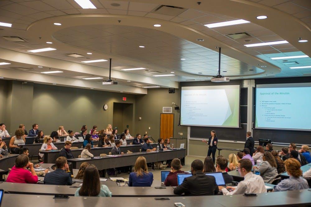 Student Senate discusses renaming Roger E. Ailes Newsroom