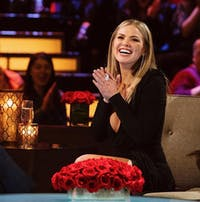 Hannah Brown from Colton Underwood's season of 'The Bachelor' will be the next Bachelorette. (Photo via @enews on Twitter)