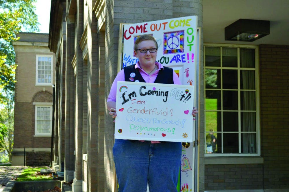 Faces of Pride posters to be hung around campus