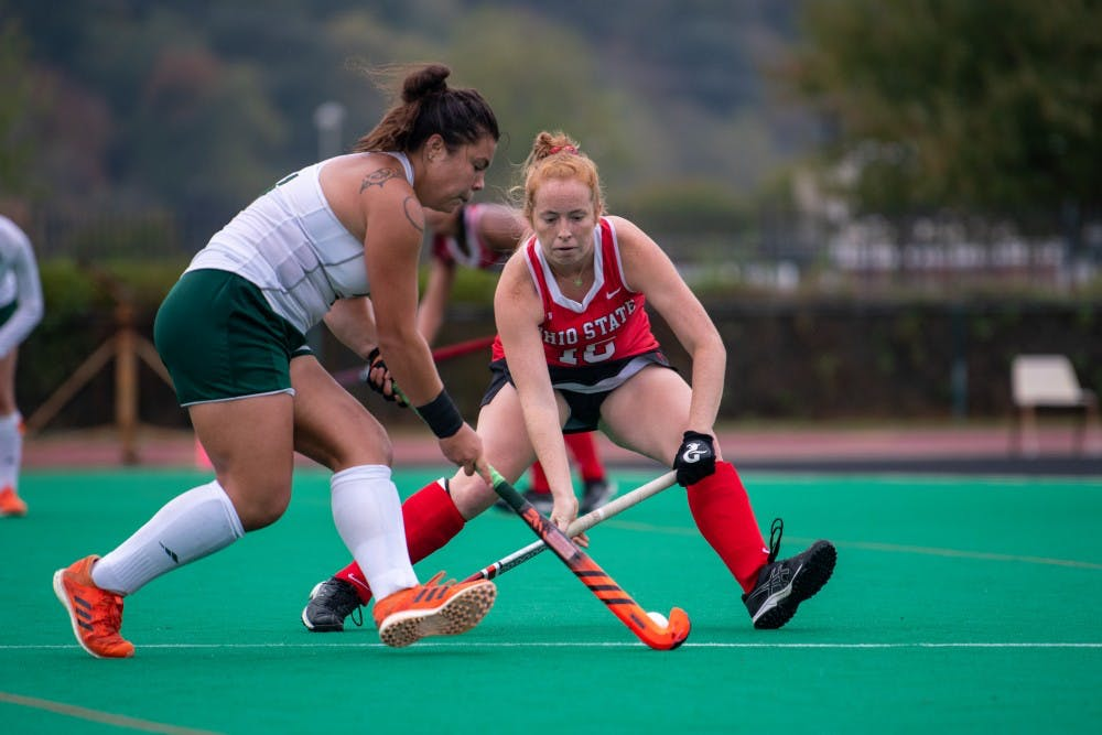 Field Hockey: Ohio plays strong on both sides of the ball to defeat Ball State 3-0