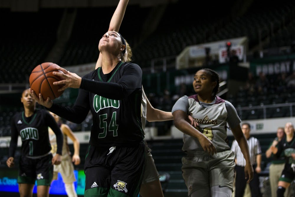 Women's Basketball: Kendall Jessing is the Bobcats' team mom