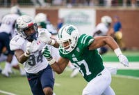 Ohio wide receiver Bryan Long Jr. during the Bobcats' game against Howard on Sept. 1. (FILE)