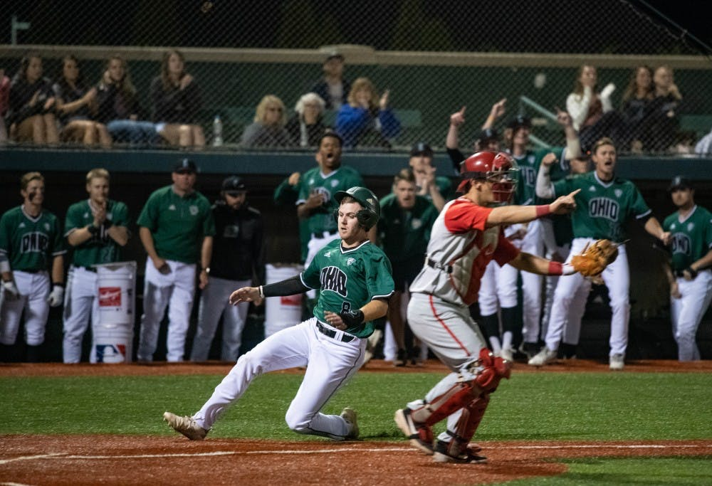 Baseball: Ohio blows early lead to Kent State