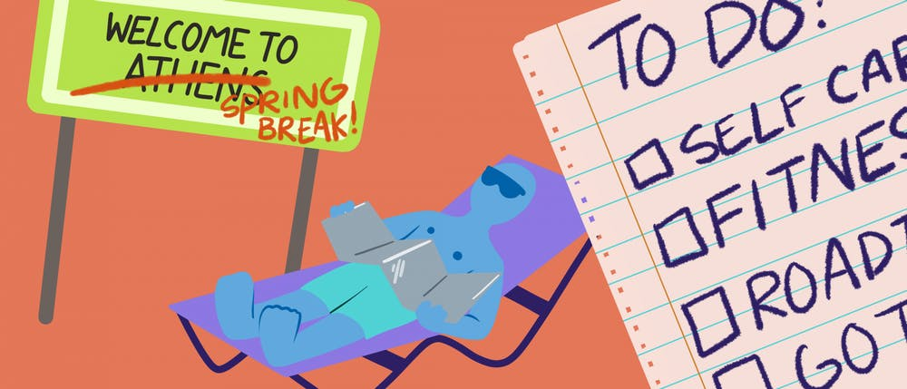 8 things to do over spring break if a vacation isn't in the plans