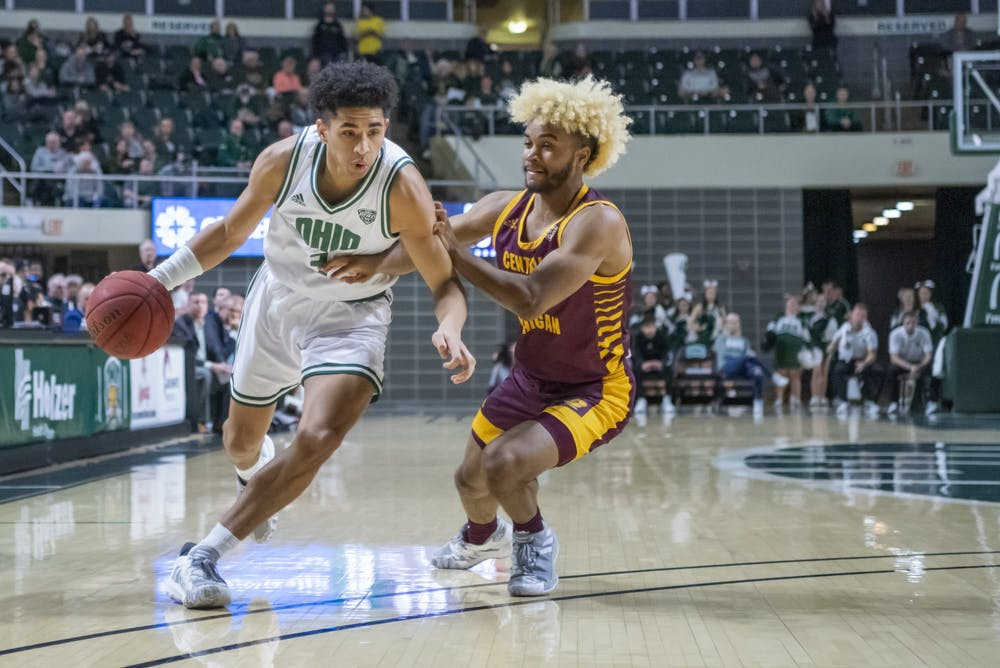Men's Basketball: Numbers to know from Ohio's 90-70 loss to Akron