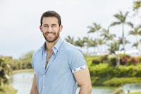 Monday night's episode of 'Bachelor in Paradise' ended with Derek sending himself home. (Photo via ABC/Craig Sjodin)