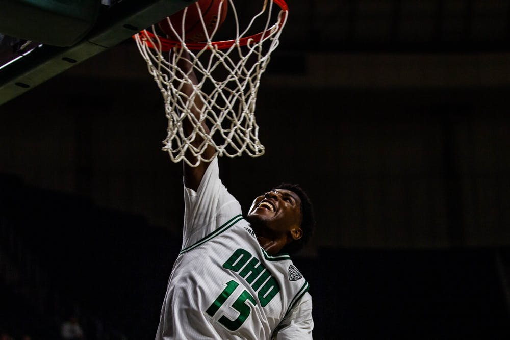 Men's Basketball: In a physical final five minutes, Lunden McDay leads Ohio past Kent State for 76-69 victory