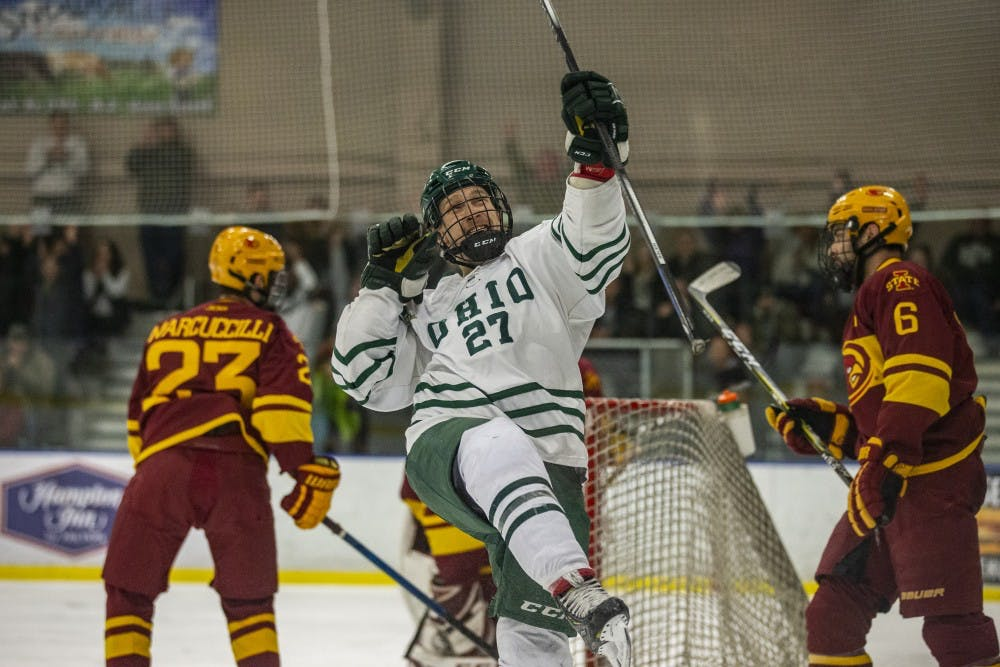 Hockey: Five minutes of perfection leads Ohio past Iowa State