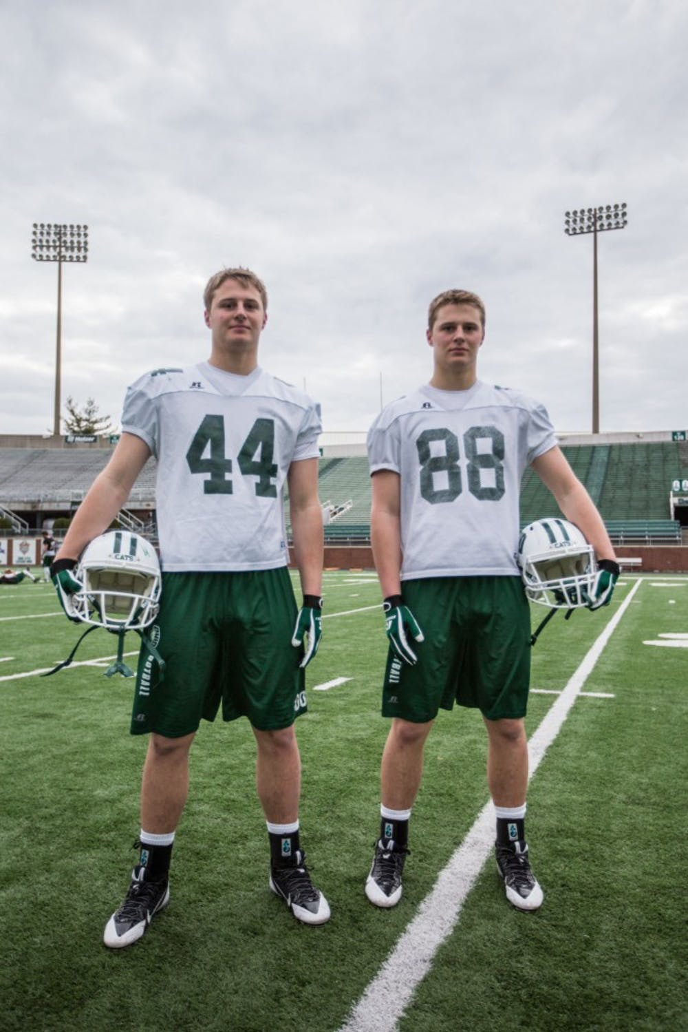 Ohio 'sees double' in rising success of twin tight ends