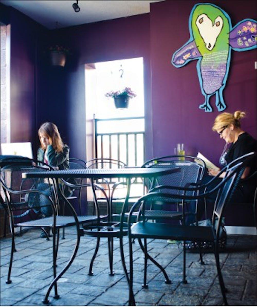 Coffeehouse celebrates a milestone