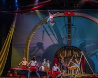 Cirque Mechanics will perform its latest show, '42FT', in MemAud on Wednesday. (Provided via Maike Schulz)