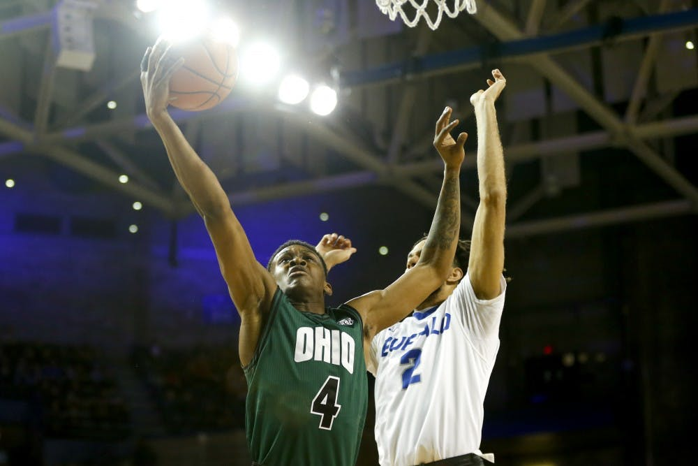Men's Basketball: Ohio starts hot, ends with a thud in 108-82 loss at Buffalo