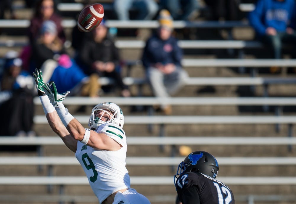 Football: With MAC fate decided, Ohio drops season finale at Buffalo, 31-24
