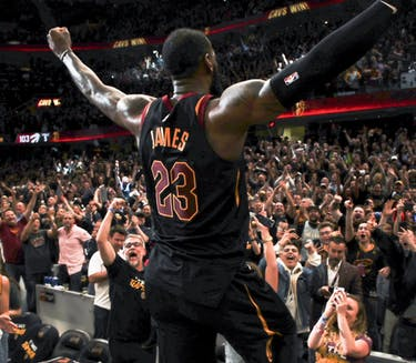 LeBron James is leaving his home team for the second time in his career. (via @cavs on Twitter)