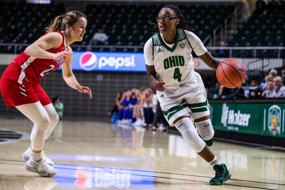 Women's Basketball: Numbers that mattered in Ohio's 81-69 win over American