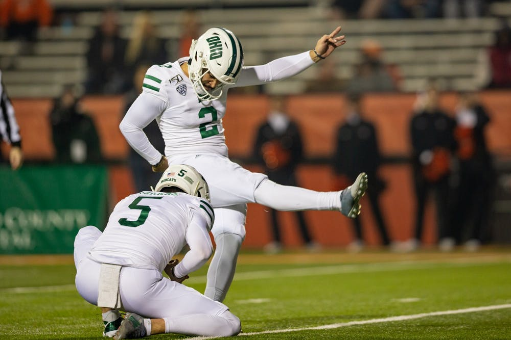 Football: Fast reactions from Ohio's 66-24 win at Bowling Green