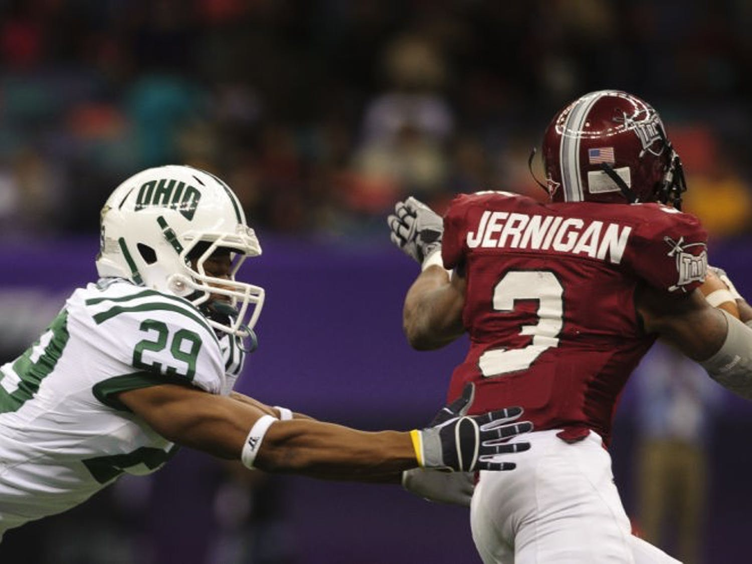 Ohio loses to Troy in R+L Carriers New Orleans Bowl
