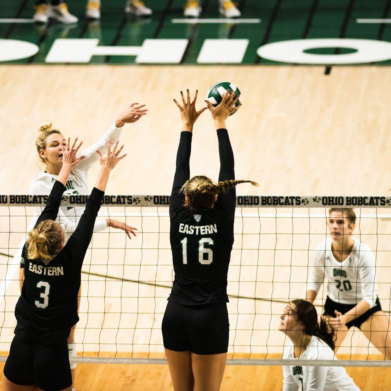 OU Volleyball V.S.EMU 10/08/2021