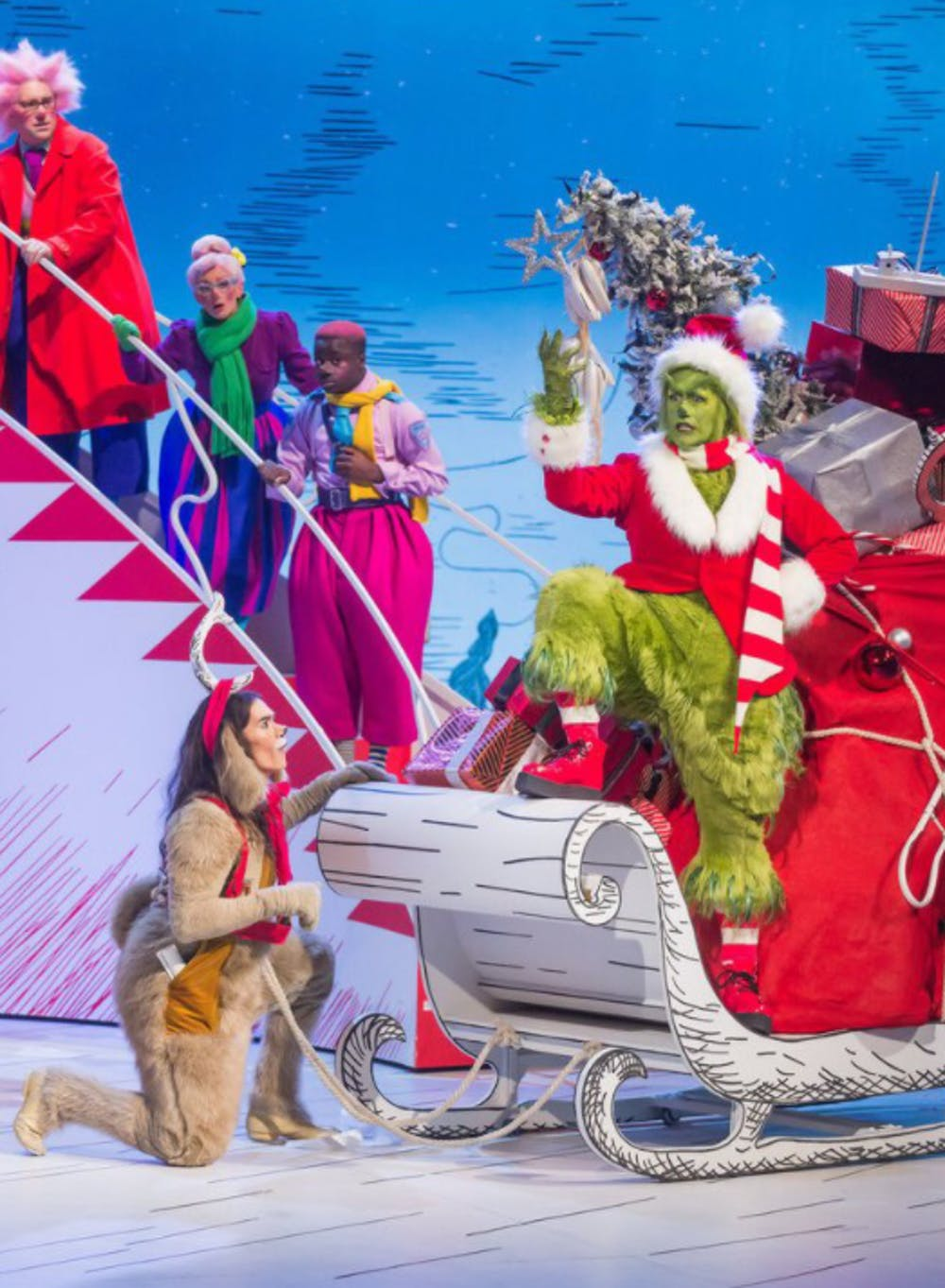TV Review: 'The Grinch Musical' is the horrific 2020 event we deserved
