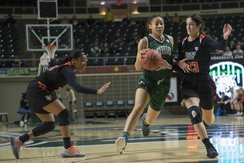 Women's Basketball: Ohio can't keep pace with Buffalo's offense in second half, loses 70-53