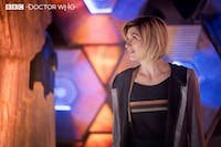 The Doctor found her TARDIS in the most recent episode of 'Doctor Who.' (via @bbcdoctorwho on Twitter)