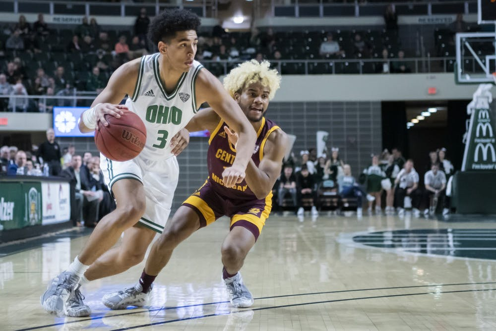 Men's Basketball: Numbers to know in Ohio's 78-68 win over Ball State