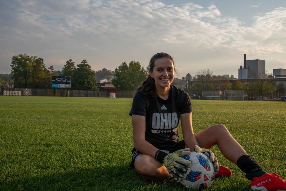 Soccer: Sydney Malham finds herself as the leader Ohio's goalkeeping unit