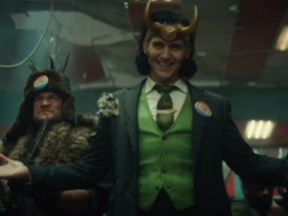 """President Loki and his gang of marauders in episode 5, """"Journey Into Mystery"""" (Photo provided by @chrisdadeviant via Twitter)"""