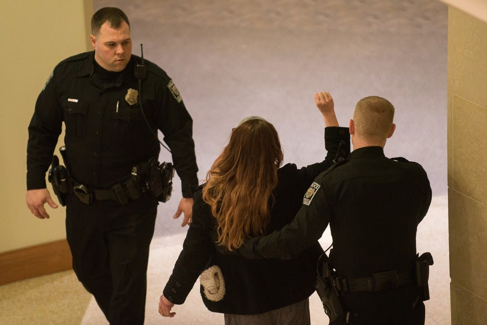 OUPD chief asks city prosecutor to drop charges against students arrested in Baker protest