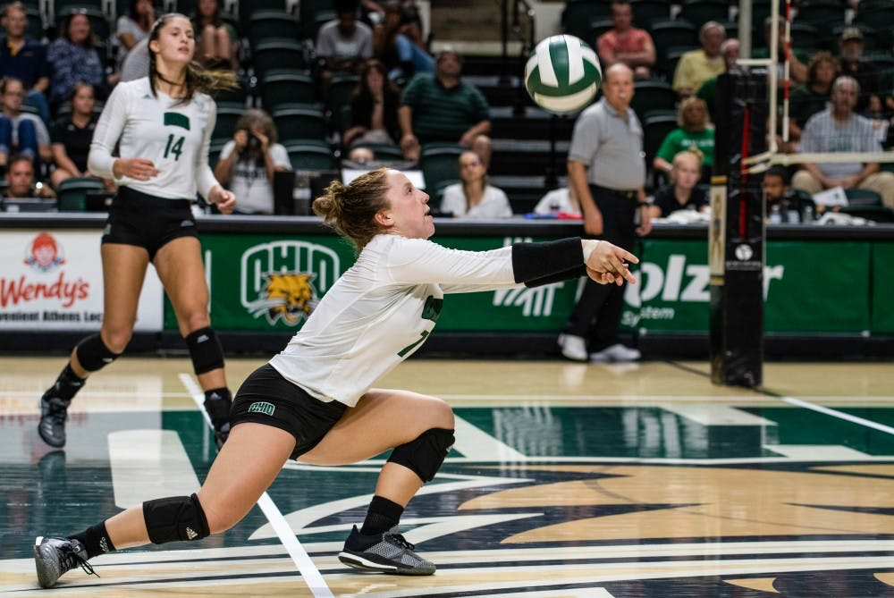 Volleyball: Ohio struggles to complete final steps in loss to Miami