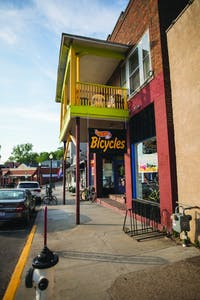 Cycle Path Bicycles sits at 104 W Union St in Athens.