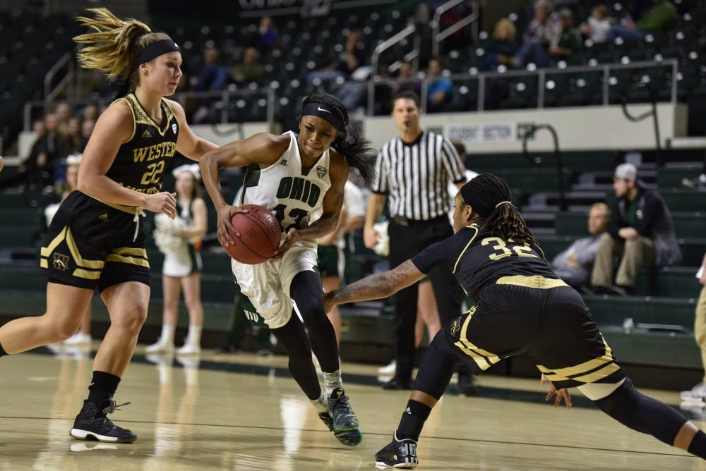 Women's Basketball: Ohio works on zone defense ahead of Ball State