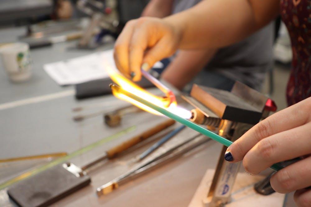 Hocking College hosts Hocking Makers Network art classes