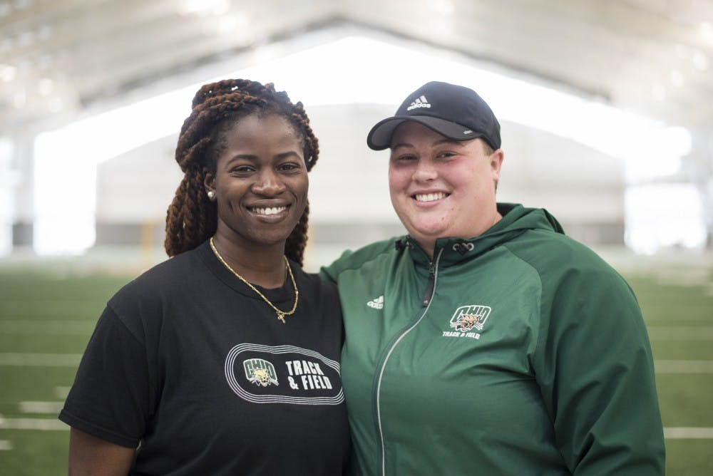 Track & Field: Bobcat throwers share bond off the field - The Post