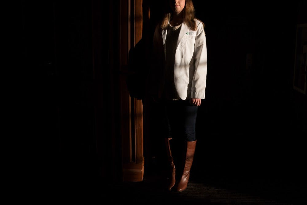 The weight of the white coat: Medical students balance pressure with their own health