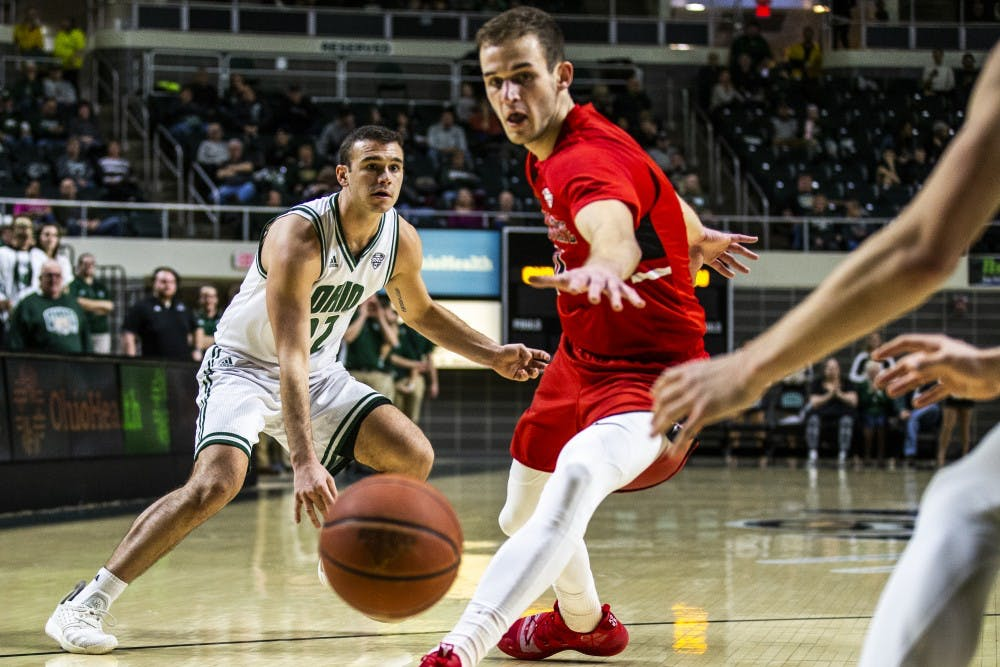 Men's Basketball:  Important numbers from Ohio's 71-60 loss at Northern Illinois