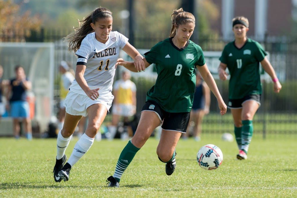 Soccer: Bobcats drop tough contest to Toledo in last home game of the season
