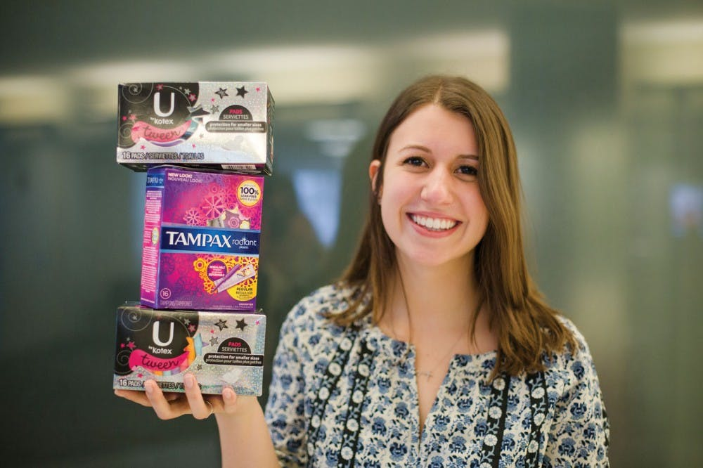 """OU student raises awareness about women's health through """"The Period Project"""""""